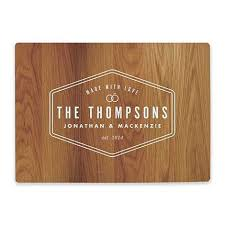 personalized glass cutting board personalized cutting board cutting board designs