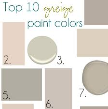 colors include 1 sherwin williams mega greige 2 valspar woodrow