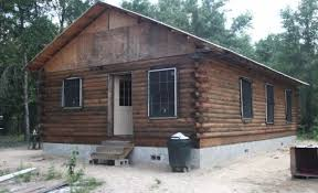 How To Build A Shed From Scratch by How To Build A Log Cabin By Hand Homesteading