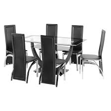 Glass Dining Tables And 6 Chairs Delta Mega Extending Glass Dining Table Glass Dining Table And