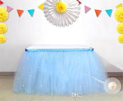 tablecloths decoration ideas tulle tablecloth for wedding banquet colorful table skirt wedding