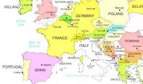 Bulgaria On World Map by Europe Political Map Map Of For Alluring European Countries On