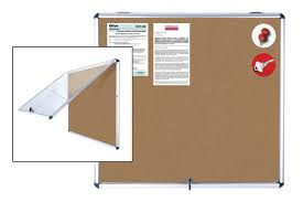 mastervision porcelain magnetic enclosed boards