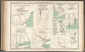 Map New York Connecticut by Plate 97 Colonial And State Boundary Disputes David Rumsey