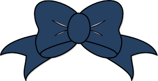 blue bows blue bow clip at clker vector clip online