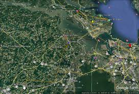 Eastern Shore Virginia Map by The Center For Conservation Biology U2013 Reese Lukei