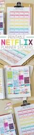 desk planner template printable vision board template carrie elle printable netflix planner stickers