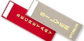 alumni ribbons stock badge ribbons 50 titles variety of colors