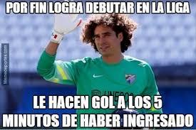 Ochoa Memes - los memes del debut de memo ochoa en la liga fotos