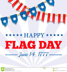 Flag Day Usa Flag Day Background Usa Patriotic Template With Text Stripes And