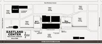 pacific mall floor plan eastland center west covina 1957 1970 u0027s