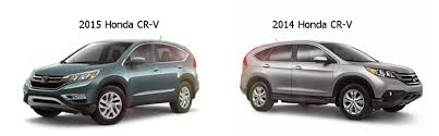 different models of honda crv what is the difference between the 2014 and 2015 cr v dow honda