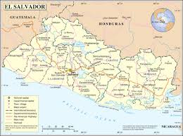 geographical map of guatemala geography of el salvador
