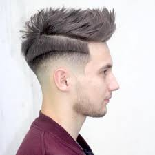 spiky fade haircut latest men haircuts