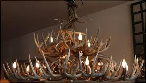 Largest Chandelier Handcrafted Deer Antler Chandeliers And Lighting
