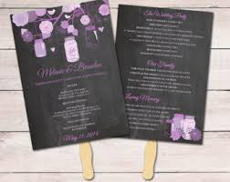 chalkboard wedding program template chalkboard program etsy