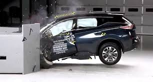 nissan murano quarter mile 2015 nissan murano earns top safety pick plus rating from iihs