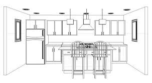 kitchen design layouts with islands one wall kitchen with island design yahoo image search results