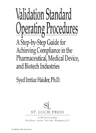 validation standard operating procedures