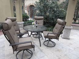 Mainstays Wicker 5 Piece Patio Dining Set Seats 4 - pebble lane living 5 piece patio dining set review best patio