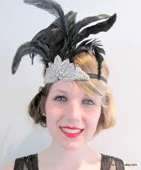1920 hair accessories flapper headband great gatsby 1920s wrap gatsby