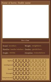 harpg trading card template by journeytorevenge on deviantart