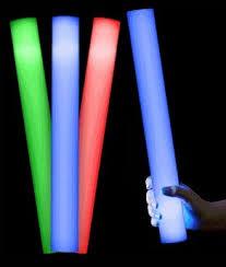 glow sticks foam glow sticks led foam sticks baton led glow sticks