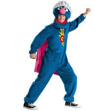super grover costume sesamestreet halloweeeeeenn