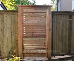 Wood Fence And Gate Ideas Red Cedar Horizontal Gate In Pressure - Backyard gate designs