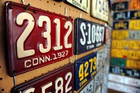 Make Your Own Vanity Plate License Plate Collection More History Than Vanity Connecticut Post
