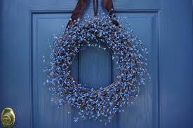 dress your door the modern wreath etsy journal