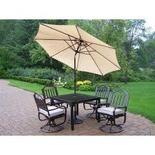 Patio Dining Sets With Umbrella Oakland Living Patio Dining Furniture Patio Furniture The