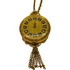 necklace with watch pendant images Vintage lucerne wind up watch necklace pendant swiss made tells jpg