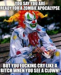 Scary Clown Meme - scary clown pictures home facebook