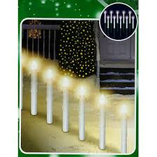 lawn stakes for lights hofert set of 10 lighted candle christmas pathway marker lawn stakes