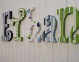 wooden letters nursery name letters nursery name sign baby