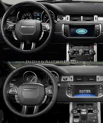 old range rover 2016 range rover evoque vs 2015 range rover evoque dashboard