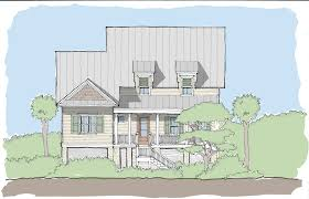 small coastal house plans creek collection u2014 flatfish island