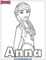 princess anna arendelle coloring u0026 coloring pages