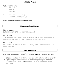 simple resume exles skills section specimen of cv europe tripsleep co