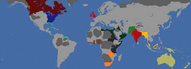 World Hunger Map by Her Majesty U0027s Hunger Games British Colonies Ai Custom Nations