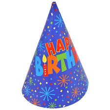 happy birthday hat bulk confetti happy birthday party hats 8 ct packs at