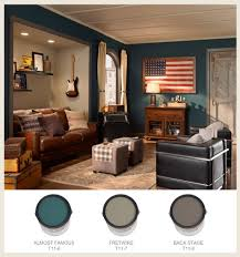 colorfully behr the man cave