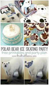 polar bear kids craft to celebrate international polar bear day