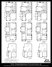 Elevation Floor Plan Chinguacousy Heights Floor Plans