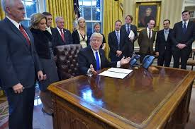 donald trump kw trump very strict us travel ban working very nicely the times
