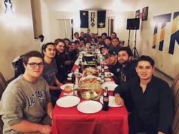 thanksgiving came early as brothers of pi kappa phi at uc