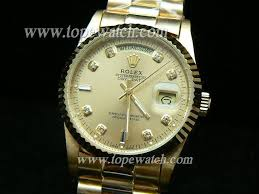 rolex k ag51g king oyster perpetual day date gold auto replica
