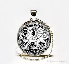 skyrim dragon pendant necklace images Wholesale celtic dragon necklace dragon jewelry dragon pendant jpg