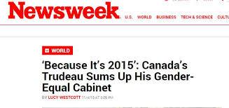 15 Cabinet Positions Because It U0027s 2015 U0027 Trudeau U0027s Gender Equal Cabinet Makes Headlines